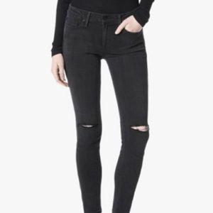 Joe's Jeans Finn ankle skinny distressed jeans
